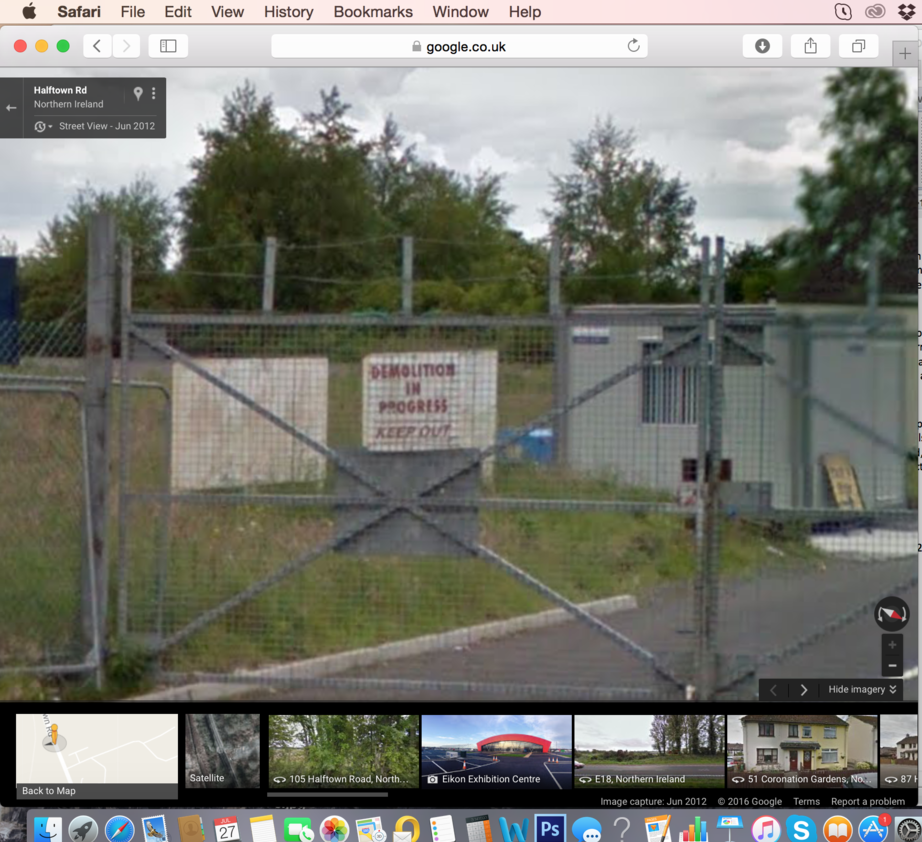 google maps street view maze long kesh